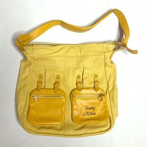 Yellow See by Chloe purse from the 2010s